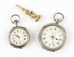 A Swiss Pocket Watch.