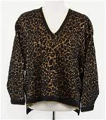 An Erte Wool Blend Sweater