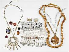 A Collection of Lady's Jewelry.