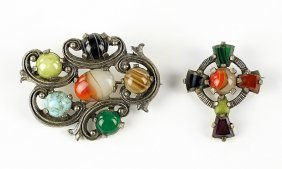 Two Brooches.