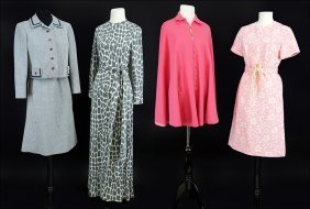 A Ruth Mcculloch Houndstooth Dress And Jacket.