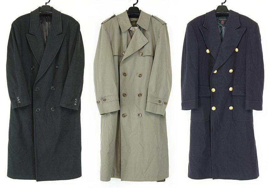 A London Fog Men's Trench Coat.