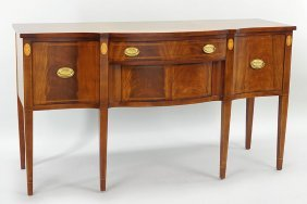 A Federal Style Mahogany Sideboard.