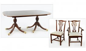 A Councill Mahogany Dining Suite.