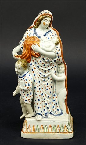 A Late 18th/early 19th Century Staffordshire Pearlware