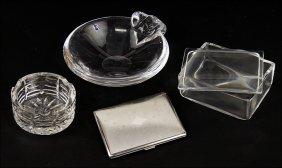 A Steuben Glass Box.