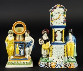 An Early 19th Century Staffordshire Pearlware Pottery