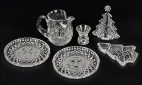A Collection Of Waterford Crystal Christmas Articles.