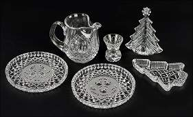 A Collection Of Waterford Crystal Christmas Articles
