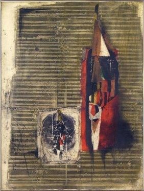 Johnny Friedlaender (polish, 1912-1992) Composition.