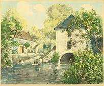 Paul Emile Lecomte French 18771950  Maison Du