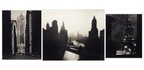 Ken Heidrich (american, 20th Century) Three Chicago