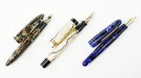 A Levenger 'argento' Fountain Pen.