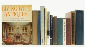 A Collection Of Books On Antique Furniture.