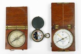 A W. & L.e. Gurley Compass.