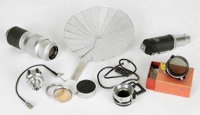 A Leica Ernst Leitz 13.5 Cm Lens.