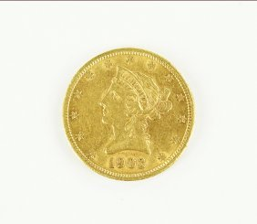 A 1903 S Liberty Head Coin.