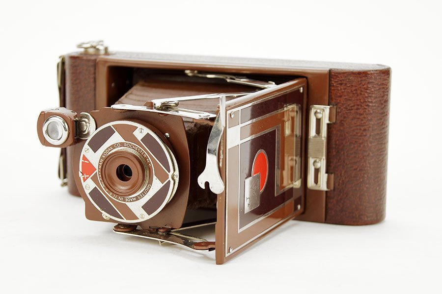 A Walter Durwin Teague Kodak Camera.