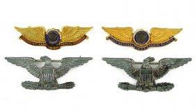 Two American Legion Eagle Pins.