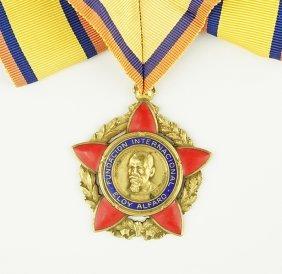 An Ecuadorian Medal.