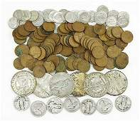 A Collection of American Coins.