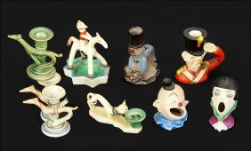 A Collection Of Goebel Ceramic Figures.