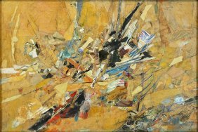 Seymour Drumlevitch (american, 1923-1989) Untitled Abst