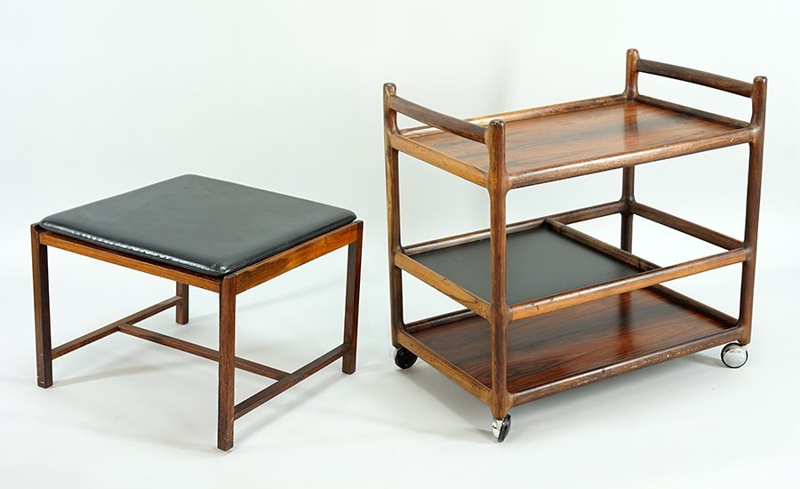 A Johannes Anderson for CFC Silkeborg Bar Cart.