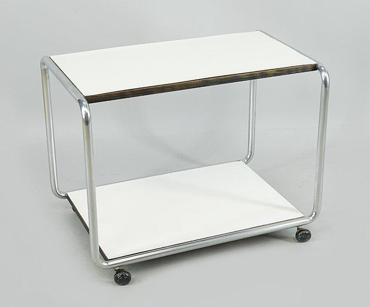 A Contemporary Bar Cart.