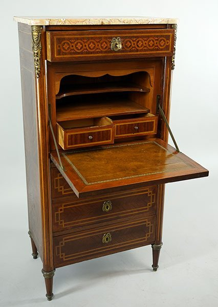 A French Abbatant Secretaire. - 2
