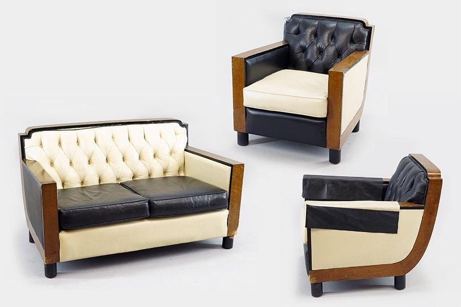 A Suite of Italian Art Deco Furniture.