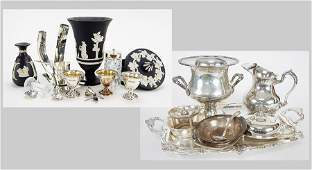 A Collection of Silverplate Serving Pieces