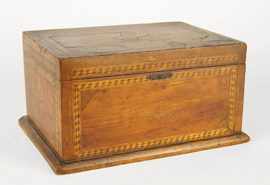 A Tunbridge Ware Box.