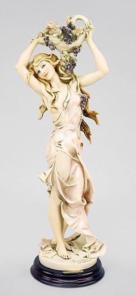 A Giuseppe Armani Figure, 'Lilacs and Roses'.
