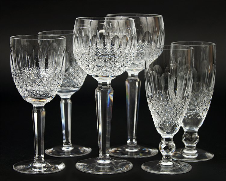 Waterford Crystal Partial Stemware Service in the