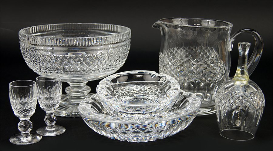 A Collection of Waterford Crystal in the Colleen