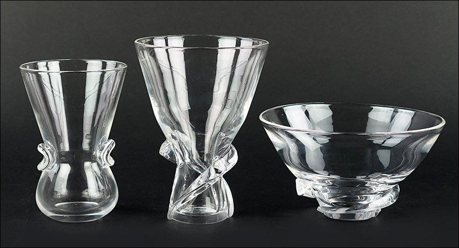 Two Steuben Glass Vases.