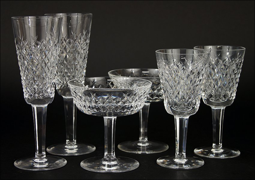 A Waterford Crystal Partial Stemware Service.