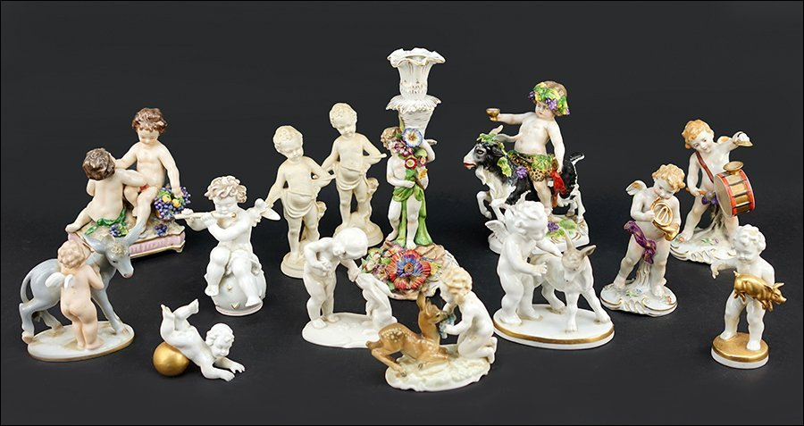 Two Hutschenreuther Porcelain Figures of Children with