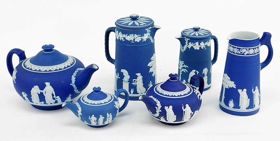A Collection of Wedgwood Jasperware.