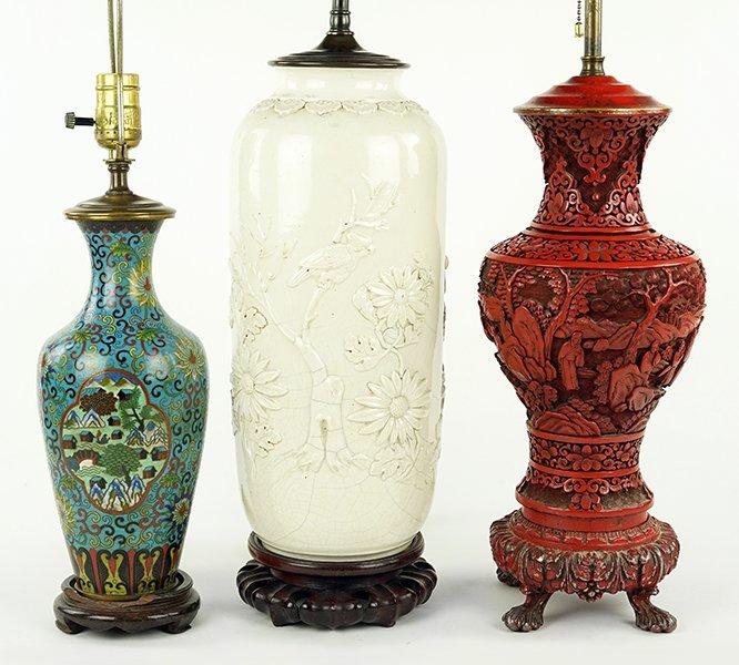 A Cinnabar Vase.