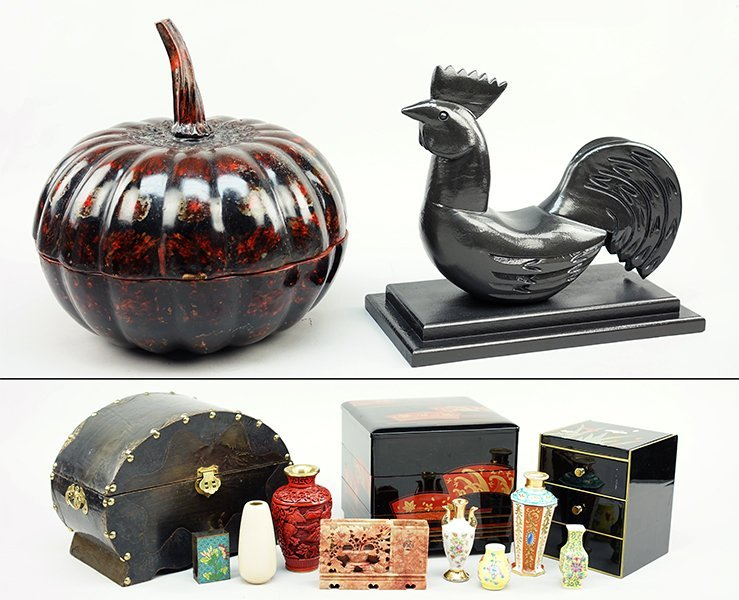 A Collection of Asian Decorative Items.