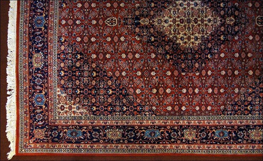 A Persian Tabriz Carpet.