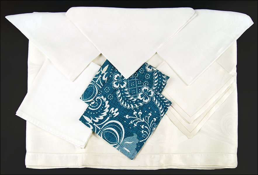 A Collection of Table Linens.