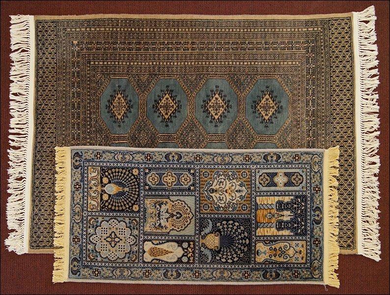 A Bokhara Carpet.