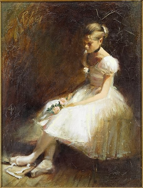 Richard Judson Zolan (American, 1931-2001) Ballerina.
