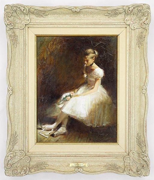 Richard Judson Zolan (American, 1931-2001) Ballerina. - 2