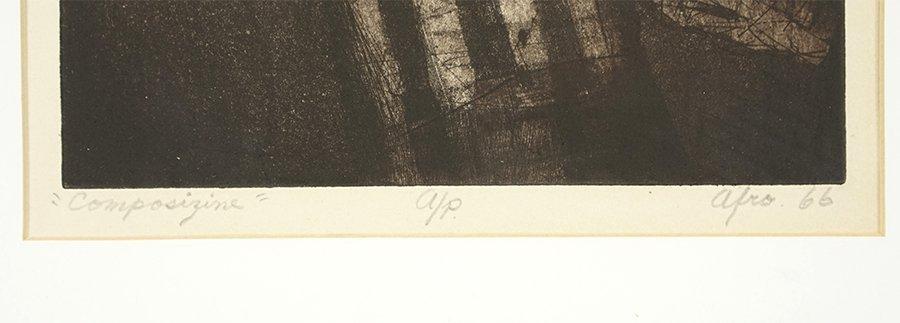 Afro Basaldella (Italian, 1912-1976) Composizine. - 2