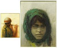 William Weintraub (American, B. 1926) Girl.