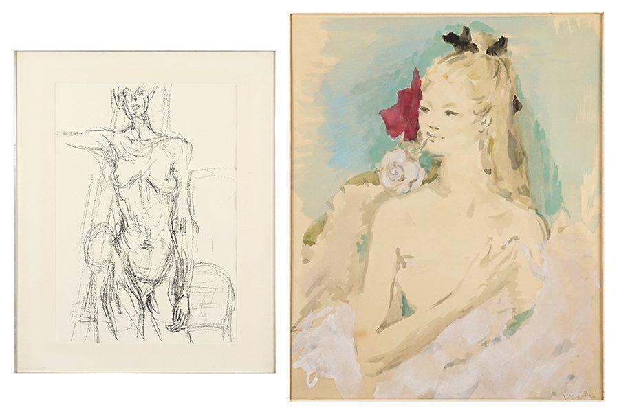 Giuseppe Napoli (American, 1929-1967) Four Works. - 2